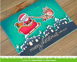 Ho-Ho-Holidays Stamp and Die Set, Lawn Fawn