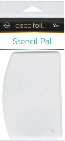 Deco Foil - Stencil Pal - 4 x 5.5 - 2 Pack, Therm O Web