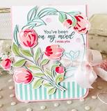 Layered Bouquet Stamp Set, Pinkfresh Studio