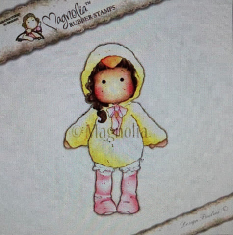 Tilda in Chicken Suit, Magnolia Rubber Stamps