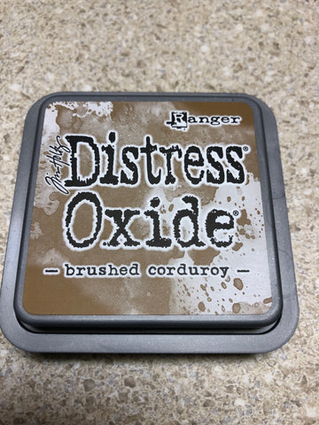 Brushed Corduroy, Distress Oxide Pad, Tim Holtz