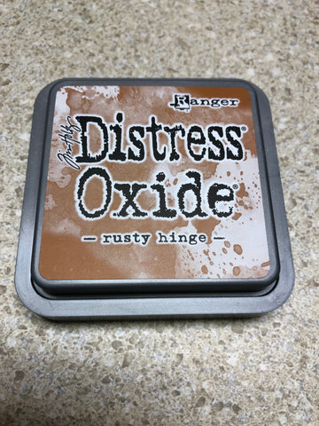 Rusty Hinge, Distress Oxide Pad, Tim Holtz