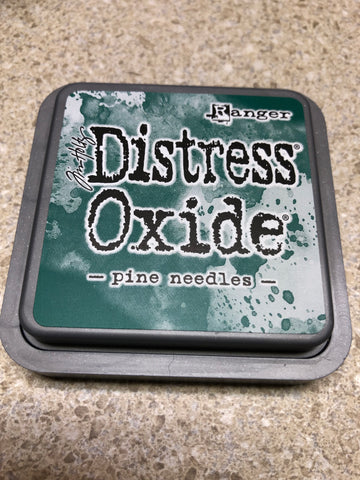 Pine Needles, Distress Oxide Pad, Tim Holtz