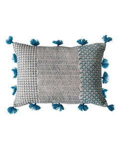 Advika Block Print Cushion