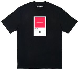 Create Your Own Track & Title T-shirt