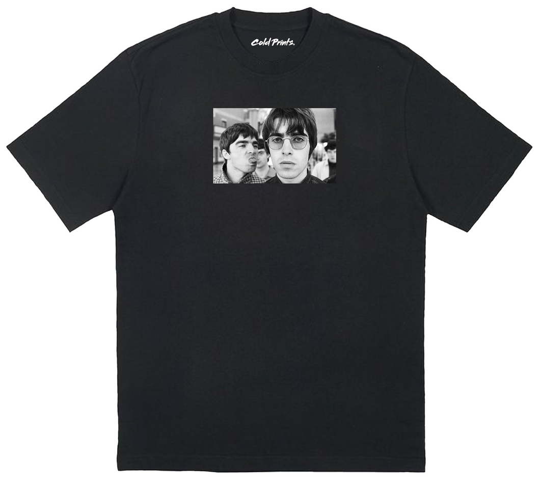Liam & Noel Gallagher Oasis T-shirt