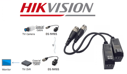 Hikvision DS-1H18S Video Balun 2 Pack with Tail