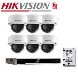 Hikvision 8MP 8CH 6Cam Bundle