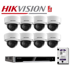 Hikvision 8CH 8Cam 8MP Network Kit NKD888