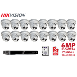 Hikvision 6MP 16CH Network Kit