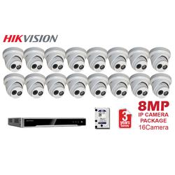 Hikvision 8MP 16CH Network Kit
