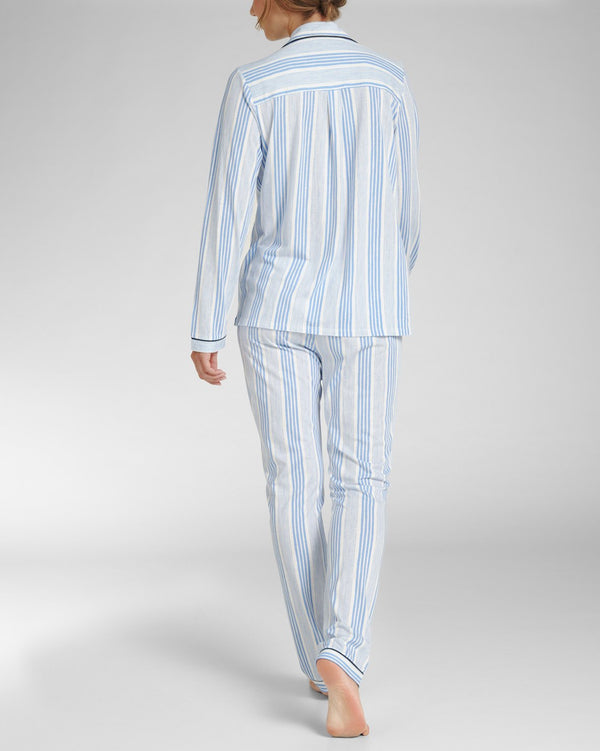 Pyjama trousers long - Mixed Stripe