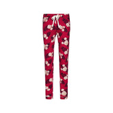 Pyjama trousers long - Fleur Rouge
