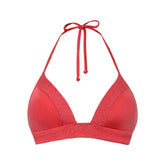 OCEAN CORAL RED - Triangle bikini top foam