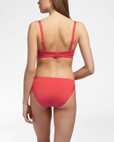 OCEAN CORAL RED - Bikini top foam cup wired
