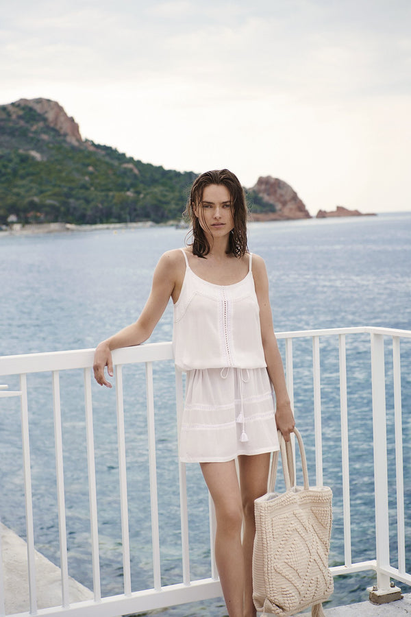BEACH VIBES WHITE - Dress
