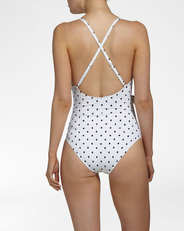 BARDOT - Bathing Suit with wrap detail