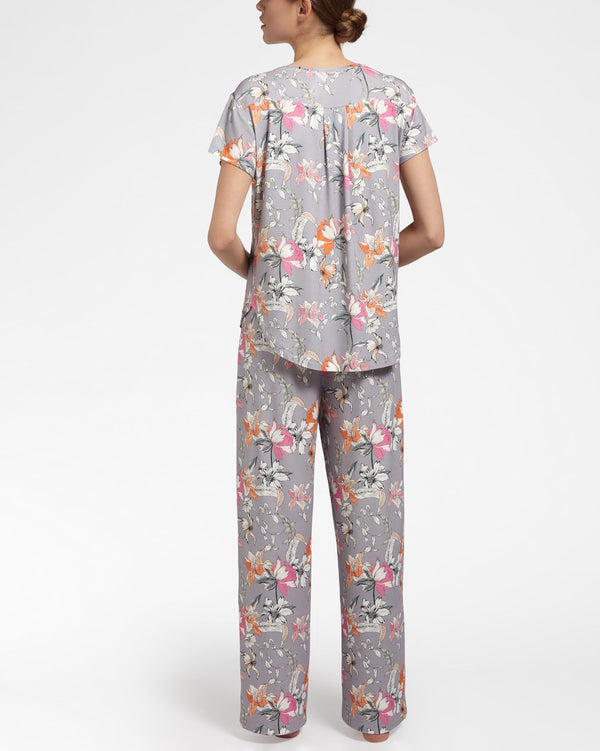 GORGEOUS GARDEN - Pyjama trousers long