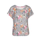 GORGEOUS GARDEN - Top with short sleeves