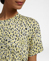 LEOPARD - Nightdress with short sleeves