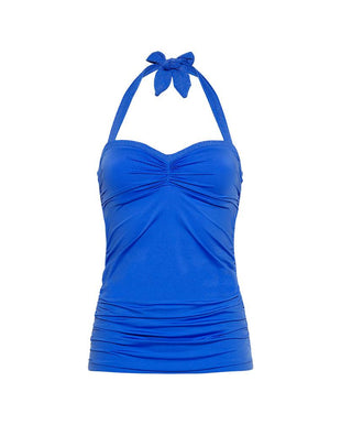 OCEAN BLUE - Tankini top foam cup