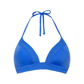 OCEAN BLUE - Triangle bikini top foam cup