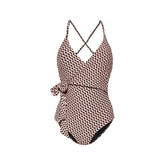 PARADISO - Bathing suit with wrap detail