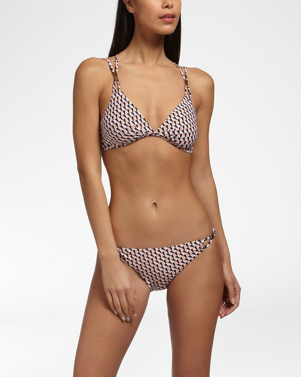 PARADISO - Bikini bottom with straps detail