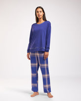 Cyell SOLID ELECTRIC BLUE Pyjamatop met lange mouwen