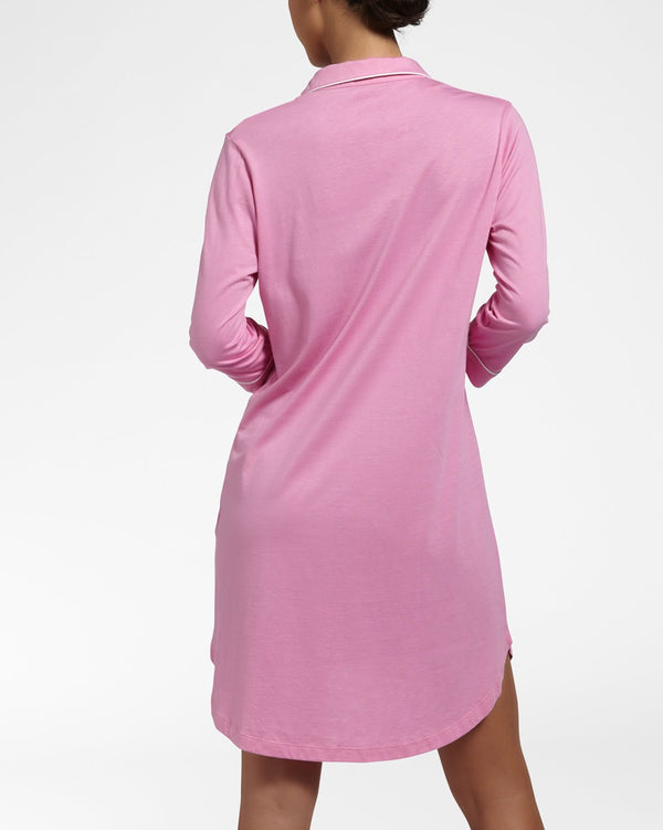SOLIDS ORCHID - Nightdress with 3/4 sleeves