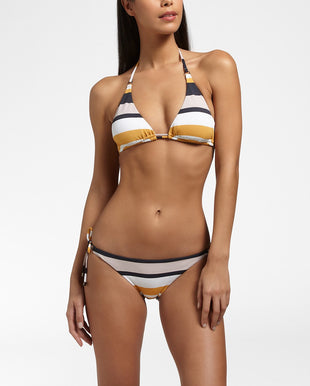 SUNSET GLITZ - Triangle bikini top