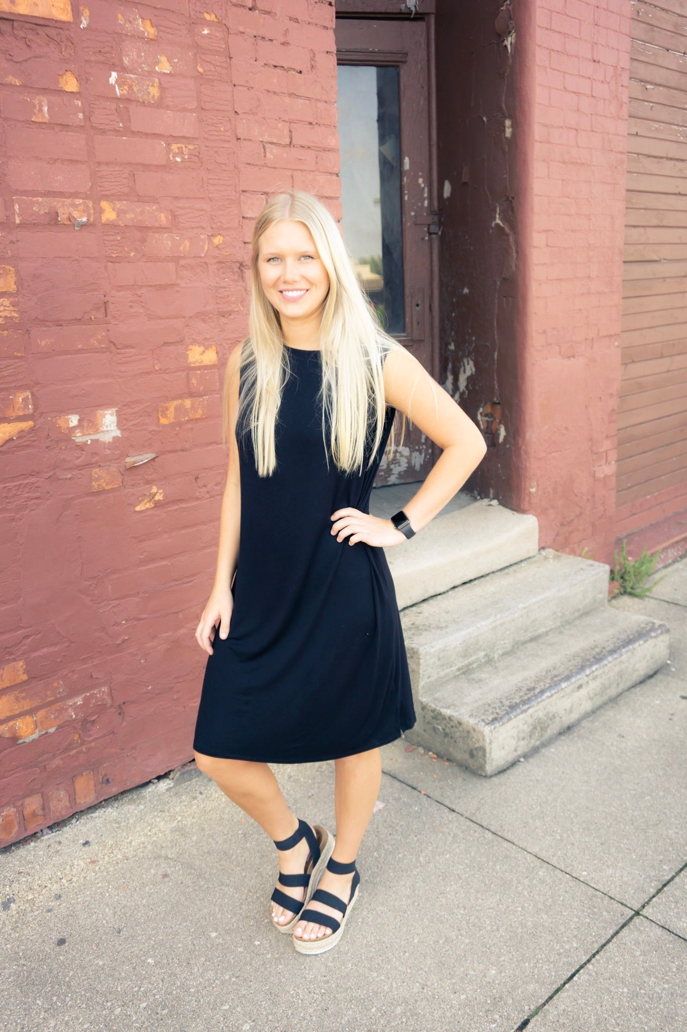 Basic Black Tank Dress