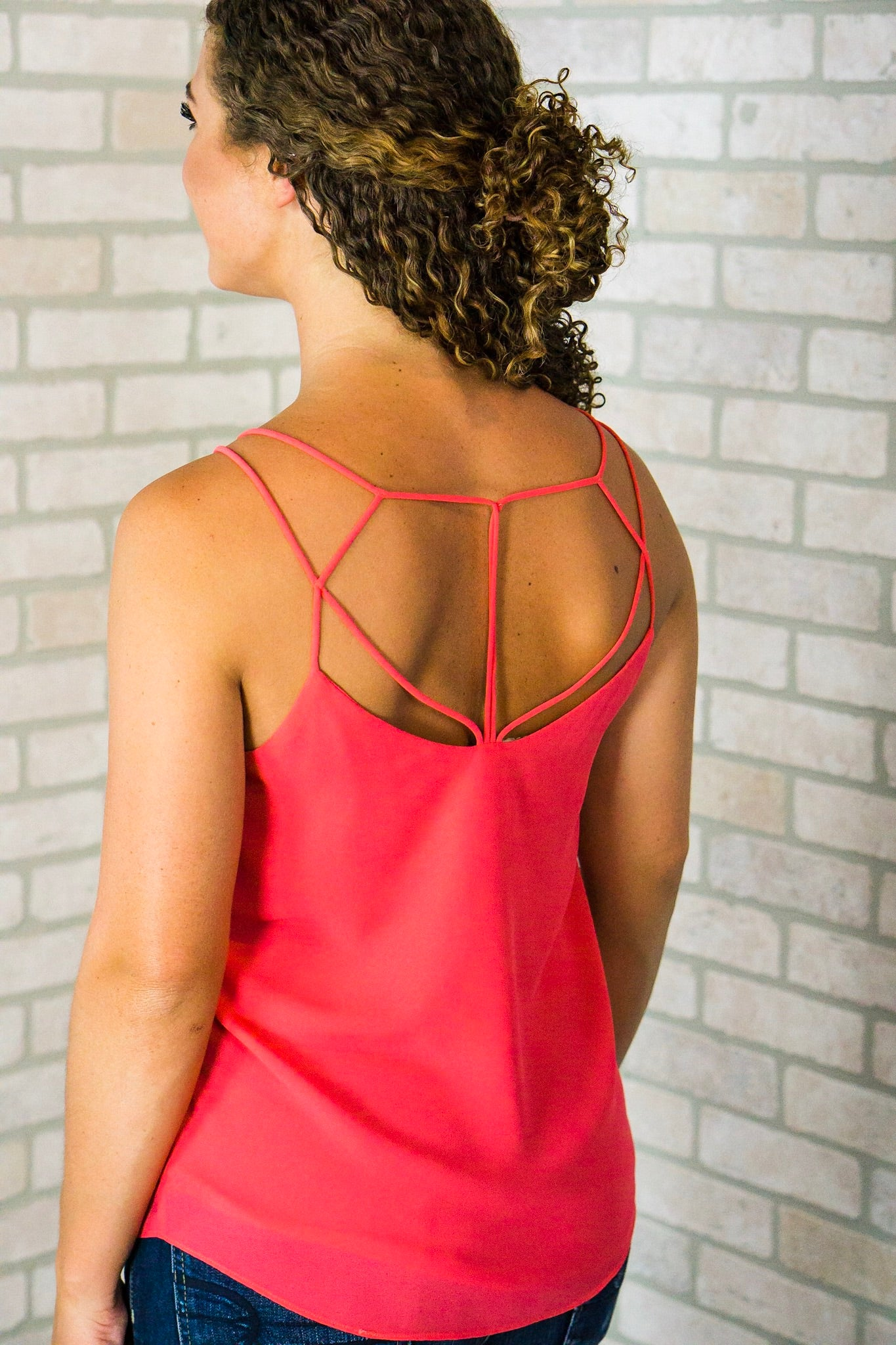 Watermelon Strappy Cami