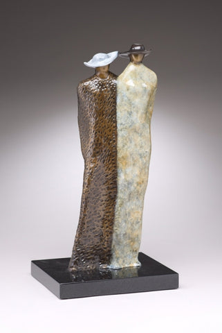 Just the Two of Us - Bronze Sculpture by artist Guilloume