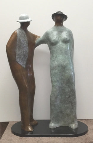 Mutual Commitment - Bronze Sculpture by artist Guilloume