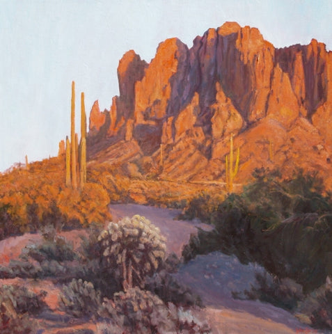 Southwest Shadows - Oil Paintings by artist John Horejs