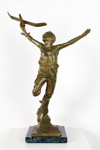 "Wings (18"") - Bronze Sculpture by artist Gary Lee Price"
