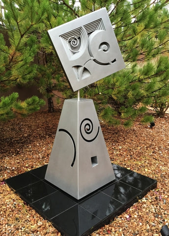 Dancing in the Park - Steel Sculpture by artist William Freer
