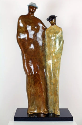 Commitment - Bronze Sculpture by artist Guilloume