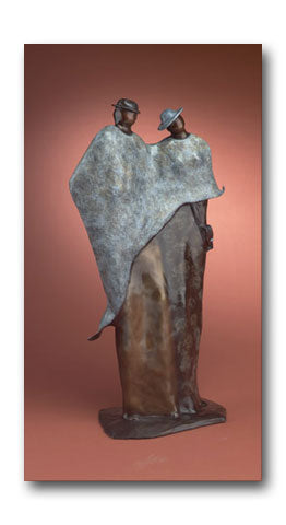 Common Bond - Bronze Sculpture by artist Guilloume