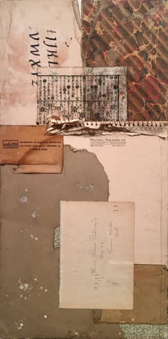 Becoming Unbecome - Collage Mixed Media Collage by artist Crystal Neubauer