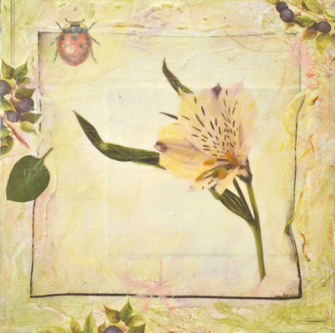 Restoration - Mixed Media on Panel Convergent Media by artist Judith Monroe
