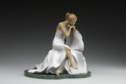 At First Light - Bronze Sculpture by artist Phyllis Mantik deQuevedo