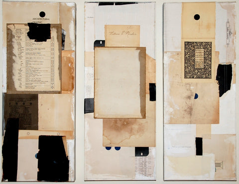 Not All Black and White - Collage Mixed Media Collage by artist Crystal Neubauer
