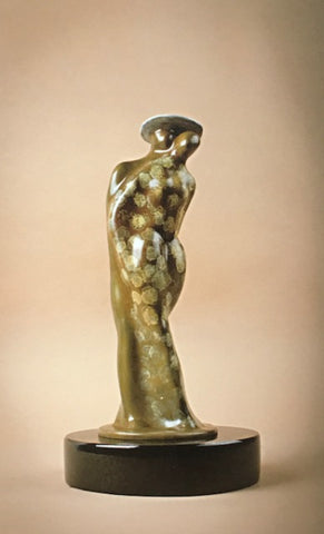 Wrapped Up in Love - Bronze Sculpture by artist Guilloume