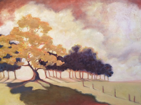 THE CLIMBING TREE - Oil Paintings by artist Constance Patterson