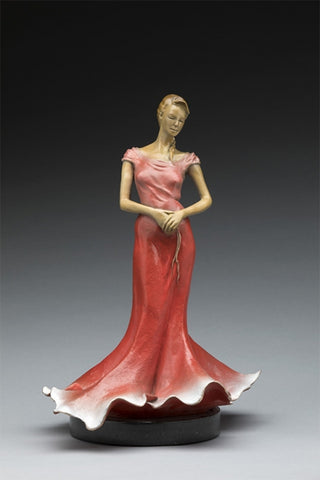 Belle of the Ball - Bronze Sculpture by artist Phyllis Mantik deQuevedo