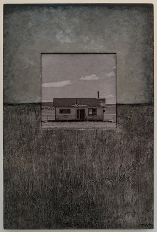 Home on the Range - Mixed Media Photography by artist Timothy White