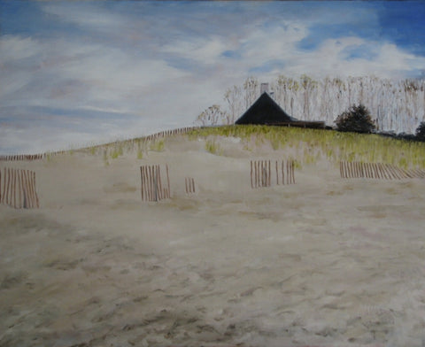 CHATHAM BEACH - Oil Paintings by artist Constance Patterson