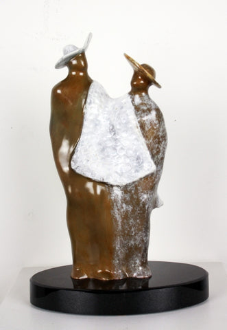Sharing - Bronze Sculpture by artist Guilloume